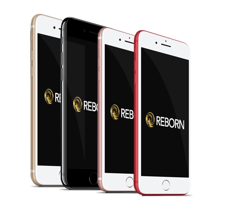 iPhone 7 reconditionnés à neuf REBORN