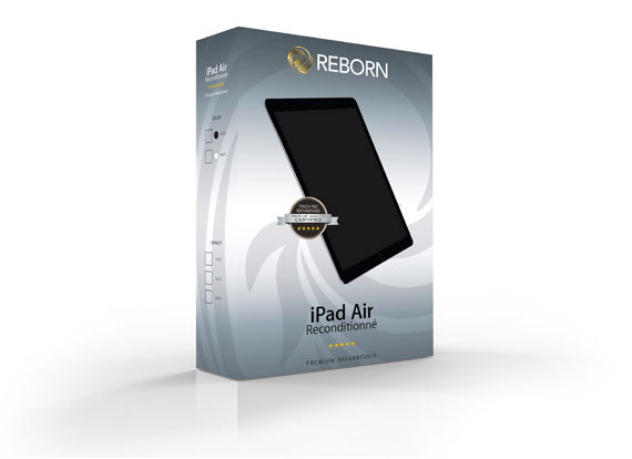 REBORN - Reconditionnement à neuf d'iPad Air