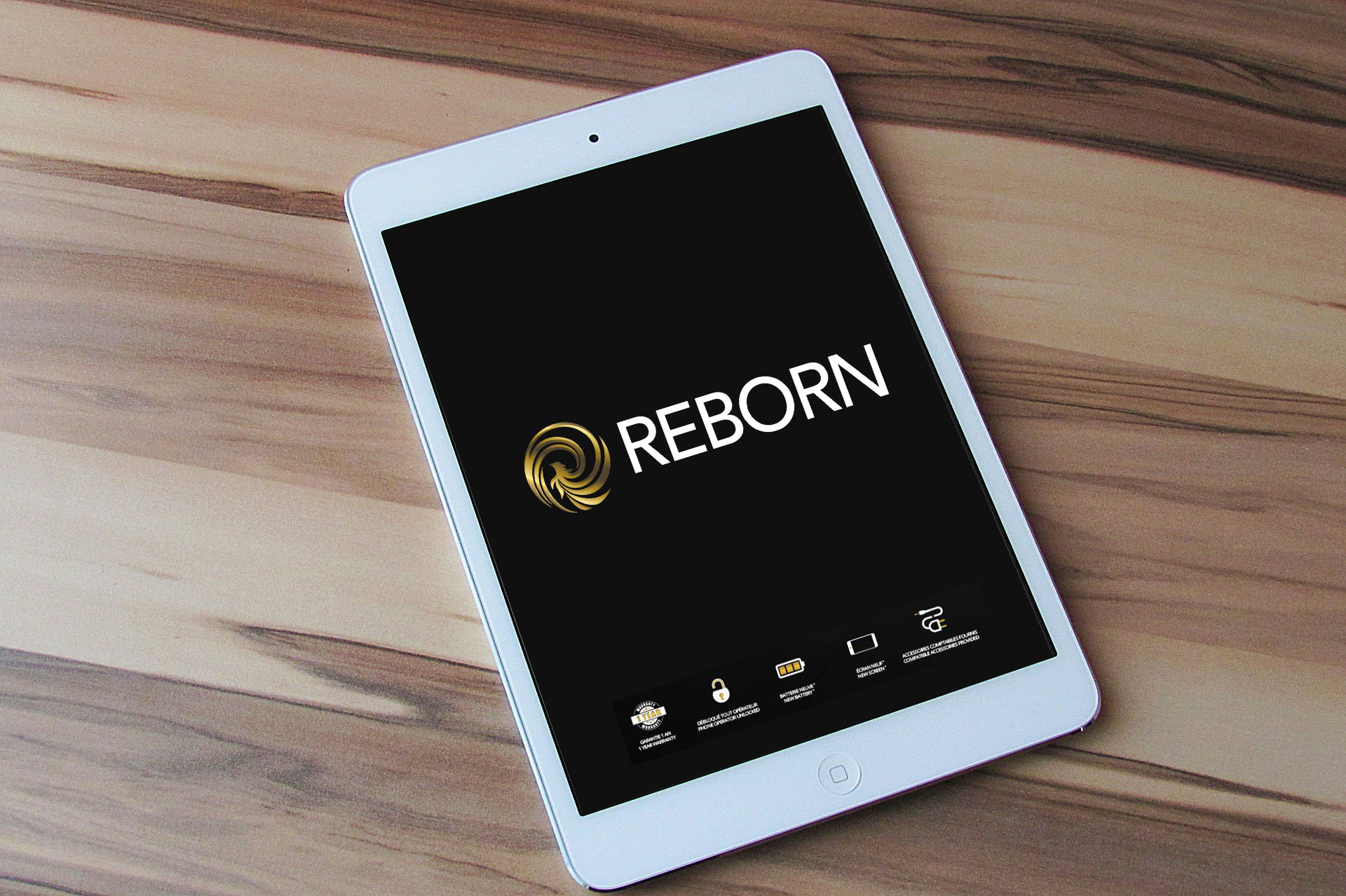 REBORN - reconditionnement IPAD AIR, IMAC